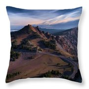 View From The Watchman Throw Pillow