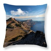 View From Watchman Throw Pillow