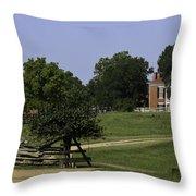 View Of Appomattox Courthouse 1 Throw Pillow