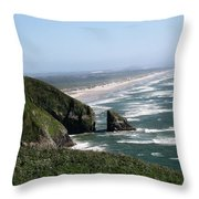 View Of Florence Throw Pillow