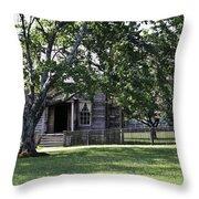 View Of Jones Law Offices Appomattox Virginia Throw Pillow
