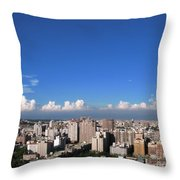 View Of Kaohsiung City Throw Pillow