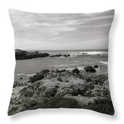 View Of The Cove Throw Pillow