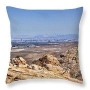 View Of Vegas Throw Pillow