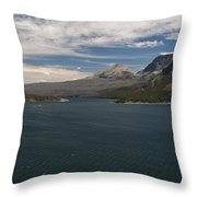 View Of Wild Goose Isl. Throw Pillow