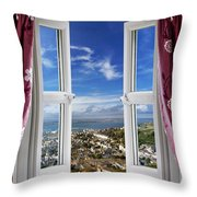 View To The World Throw Pillow