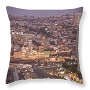 Views From Paseo Atkinson, On Cerro Throw Pillow