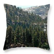 Vikingsholm Castle Throw Pillow