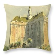Villa Riviera Another View Throw Pillow
