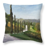 Casa Benne Villa Road Throw Pillow