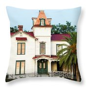 Villa Villekulla The Pippi Longstocking House Amelia Island Florida Throw Pillow