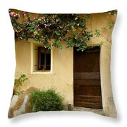 Village House In Bormes Throw Pillow