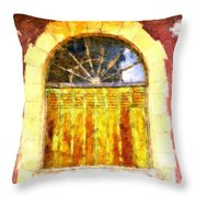 Villefranche Du Perigord Throw Pillow