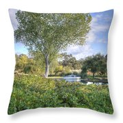 Vines And Trees Throw Pillow