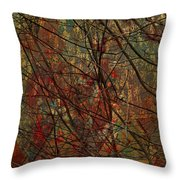 Vines And Twines  Throw Pillow