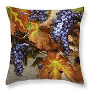 Vineyard Splendor Throw Pillow