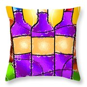 Vino Throw Pillow