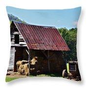 Vintage Americana Throw Pillow