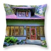 Vintage Craftsman Throw Pillow