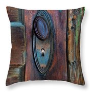 Vintage Door Knob Throw Pillow