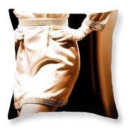 Vintage Fashion  Throw Pillow