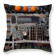 Vintage Harvest Throw Pillow