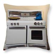 Vintage Kitchen 3 Throw Pillow