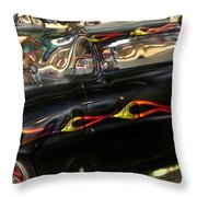 Vintage Metal Throw Pillow