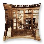 Vintage Paris 4 Throw Pillow