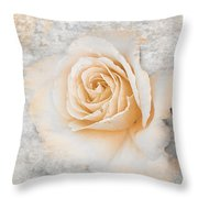 Vintage Rose II Throw Pillow