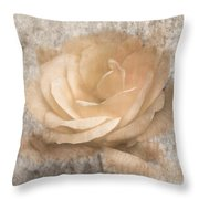 Vintage Rose IIi Throw Pillow