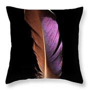 Violet Splendor Throw Pillow