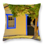 Violet Was In School Throw Pillow