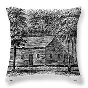 Virginia: Church Throw Pillow
