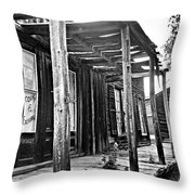 Virginia City Brewery Area Throw Pillow