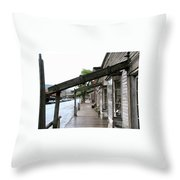 Virginia City Montana 03 Throw Pillow