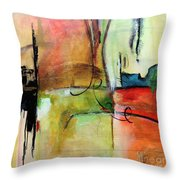 Vision Constructed Throw Pillow