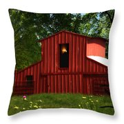 Visionary Retreat Throw Pillow by Elizabeth Hart