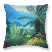 Visions Of Hawaii Throw Pillow