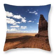 Visions Of Monument Valley  Throw Pillow