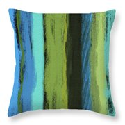 Visual Cadence Vi Throw Pillow