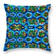 Vital Network I Design Throw Pillow