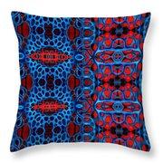 Vital Network II Design Large Throw Pillow