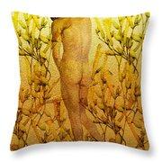 Vital Solitude Throw Pillow