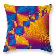 Vitamin H Crystal Throw Pillow