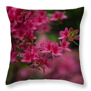 Vivid Group Throw Pillow