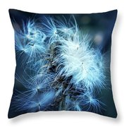 Voice Of A Thistle Throw Pillow