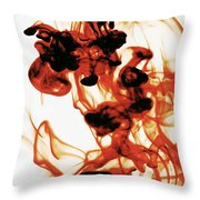 Volcanic Eruption Throw Pillow