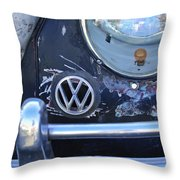 Volkswagen Vw Emblem Throw Pillow