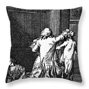 Voltaire: Candide Throw Pillow